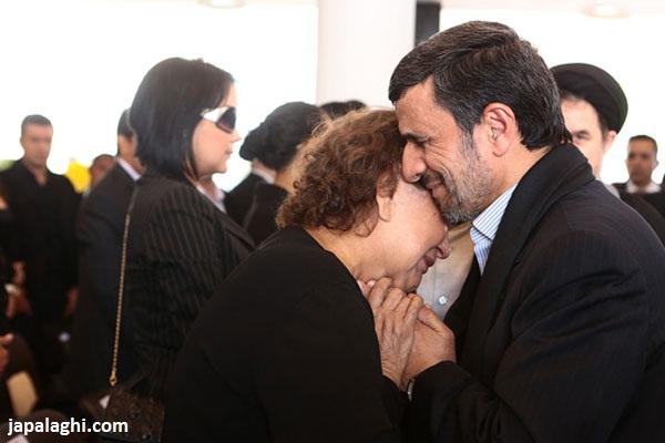 بغل کردن مادر چاوز