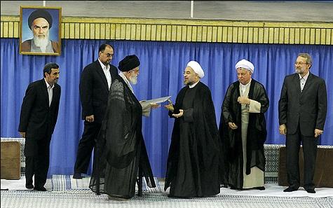 متن سخنرانی دکتر حسن روحانی در مراسم تنفیذ