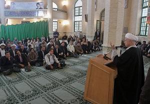 فایل صوتی سخنرانی آیت الله هاشمی رفسنجانی در مورد سوریه