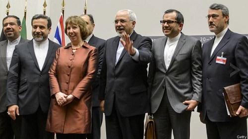 تصاویر جالب از پایان توافق  هسته ایی