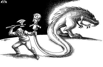 بابک زنجانی و فساد یقه بسته سفید ها